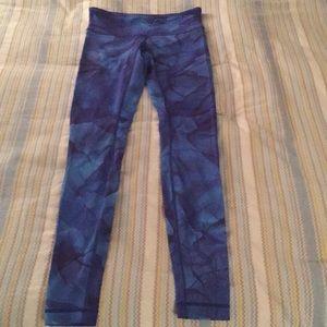 Limited edition lulu lemon blue tie-dye print